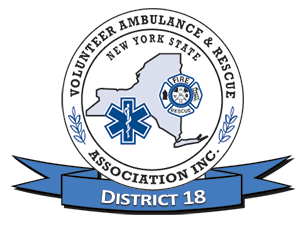 New York State Volunteer Ambulance & Rescue Association, Inc. DISTRICT 18